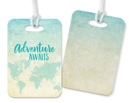 adventureawaitsluggagetag