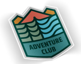 adventureclubsticker