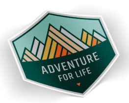 adventureforlifesticker
