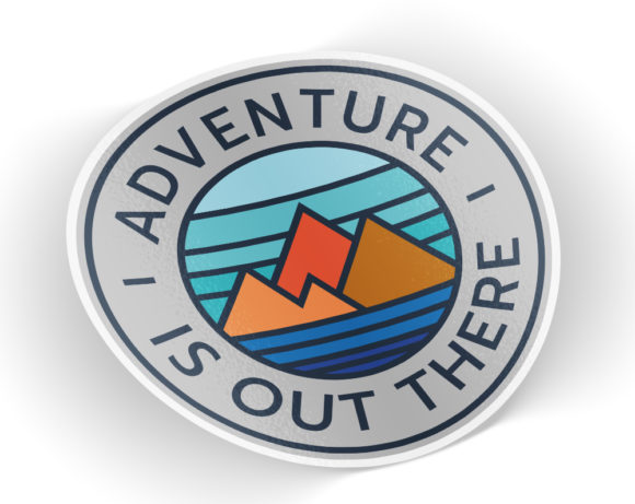 adventureisouttheresticker