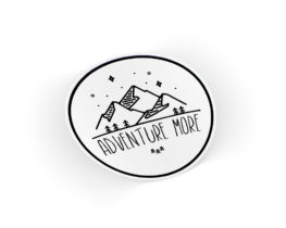 adventuremoresticker
