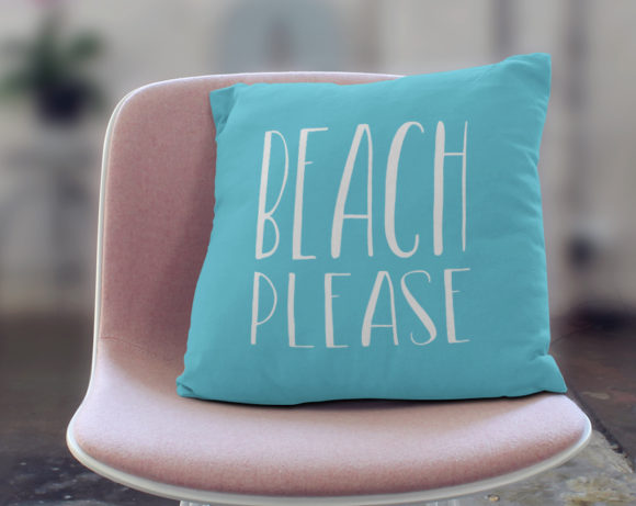 beachpleasepillow
