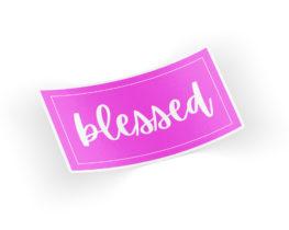 blessedsticker