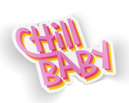 chillbabysticker