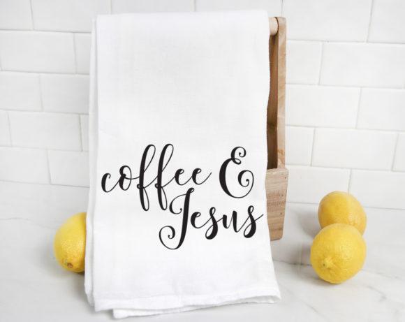 coffeeandjesustowel