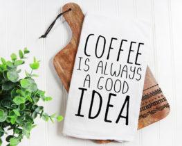 coffeegoodideatowel
