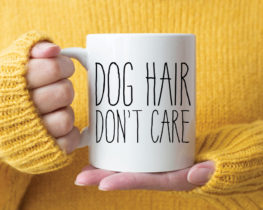 doghairdontcaremug