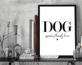 dogspokenfluentlyhereprint