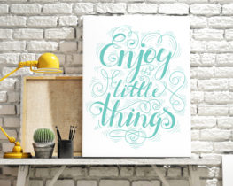 enjoythelittlethingsprint