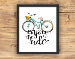 enjoytherideposter