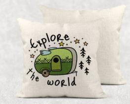 exploretheworldpillow