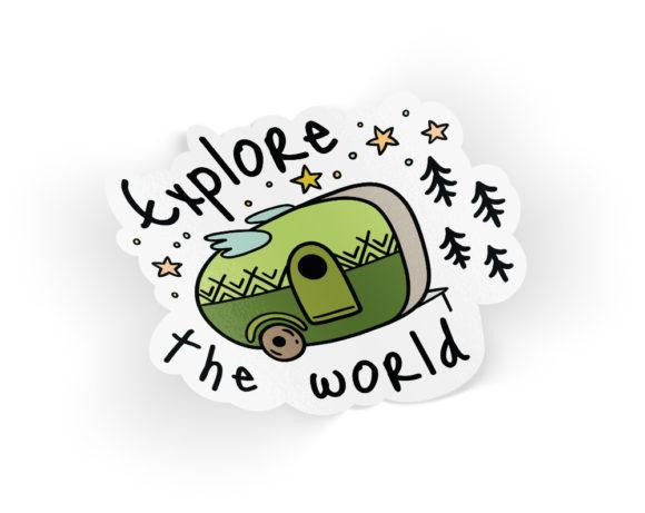 exploretheworldsticker