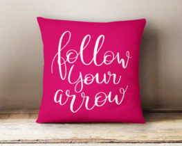 followyourarrowpillow