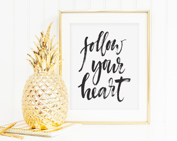 followyourheartprint