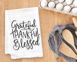 gratefulthankfulblessedteatowel