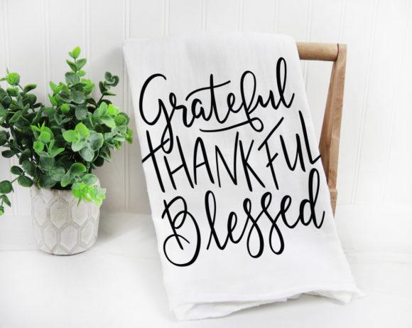 gratefulthankfulblessedtowel