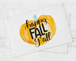 happyfallyallplacemat