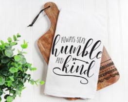 humbleandkindtowel