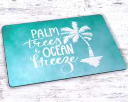 palmtreesoceanbreezemousepad