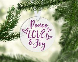 peacelovejoyornament