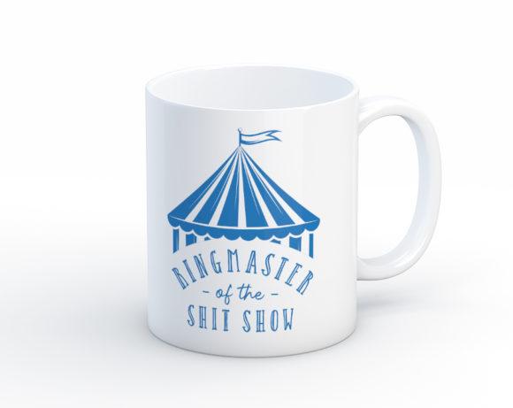 ringmasteroftheshitshowmug