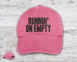 runninonemptyhat