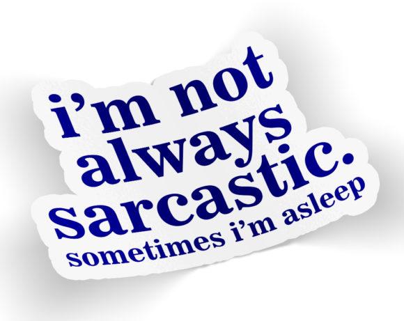 sarcasticsticker