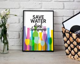 savewater-drinkchampagne