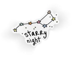 starrynightsticker
