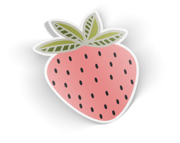 strawberrysticker