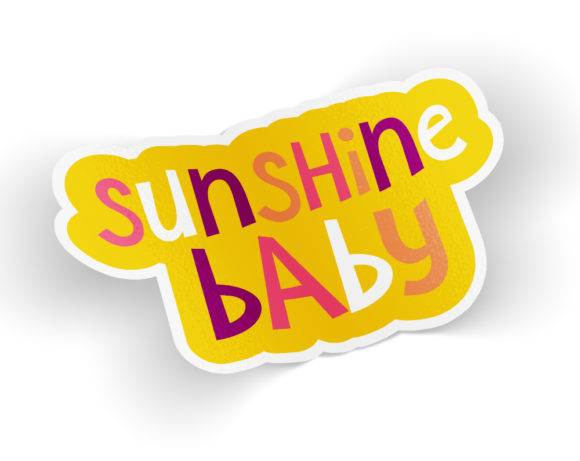 sunshinebabysticker