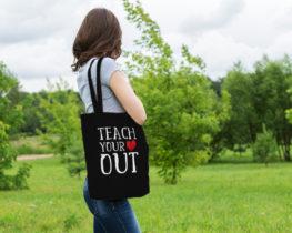 teachyourheartouttote