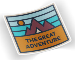 thegreatadventuresticker
