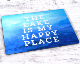 thelakeismyhappyplacemousepad