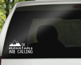 themountainsarecallingdecal