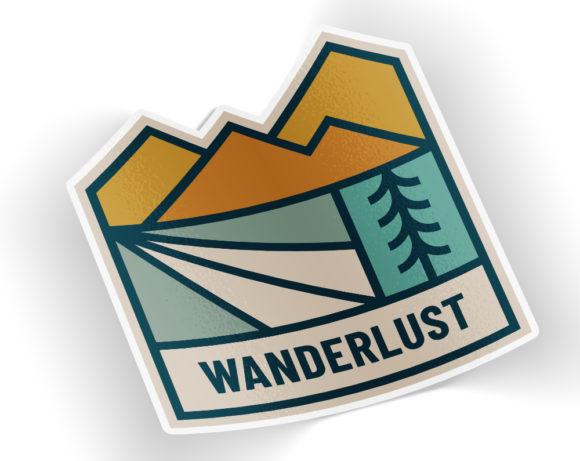 wanderluststicker