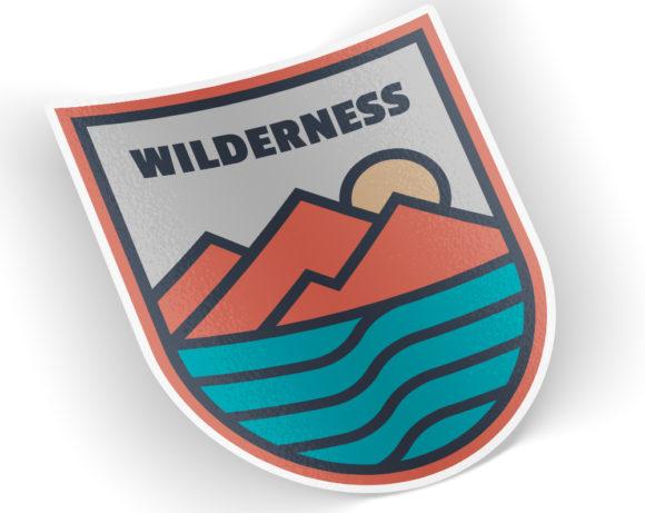 wildernesssticker